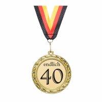 Orden / Medaille endlich 40