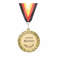 Orden / Medaille endlich Rentner