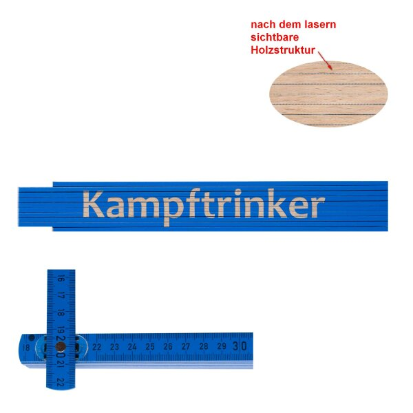 Zollstock Kampftrinker