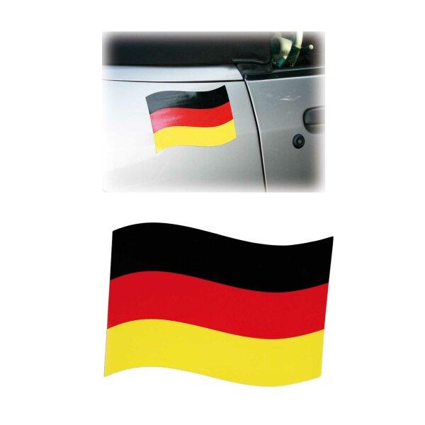 Automagnetflagge Deustchland 21x15cm