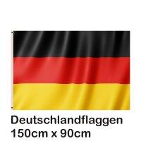 Fahne Flagge Deutschland 90x150cm