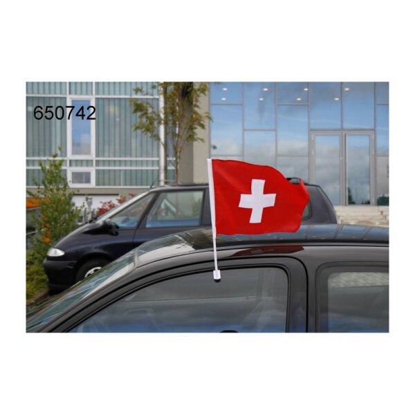 Autofahne Schweiz 45x30cm