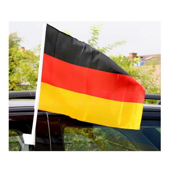 Autofahne 2er Set Deutschland 45x30cm