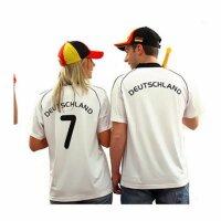Fußballtrikot Deutschland mit Rückennummer