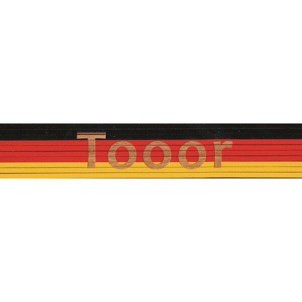 Zollstock schwarz/rot/gelb: Tooor