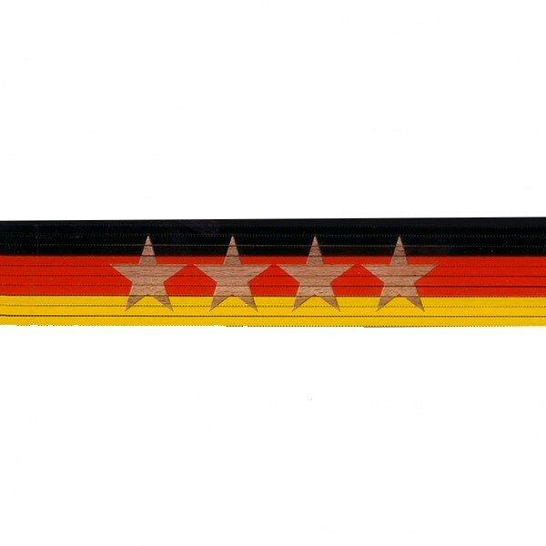Zollstock schwarz/rot/gelb: **** 4. Stern
