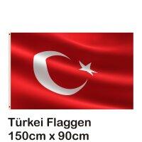 Fahne Flagge Türkei 90x150cm