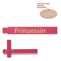 Zollstock pink Prinzessin