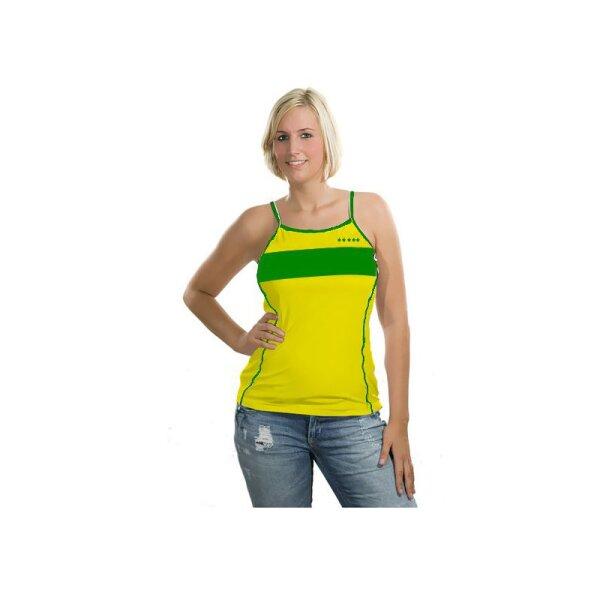 Damen Top Brasilien mit Rückennummer