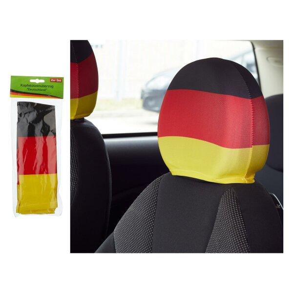 2er Set Kopfstützenüberzug Deutschland