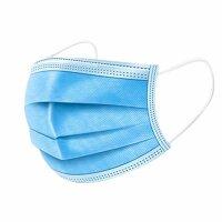 50er Pack Einweg Mundschutz Gesichtsmaske 3 lagig